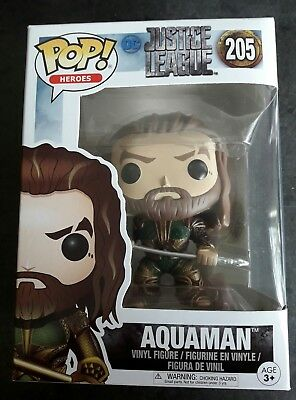 Justice League- Aquaman 205 pop vinyl