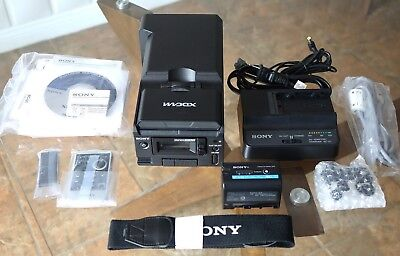 Sony PMW-50 Portable SxS PRO Rugged Portable Deck BPU-30, BC-U1 *ONLY 43 HOURS*