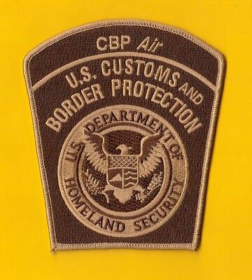 S10 * Rare Uscbp Cpb Air Marine Helo Homeland Federal Agency Fbi Police Patch *