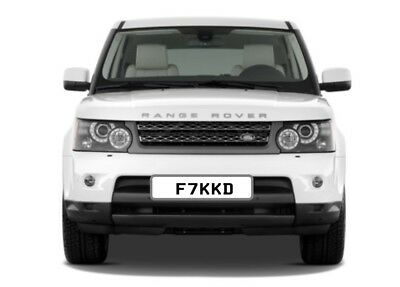 F☆CKED! (F7 KKD) Private Number Plate RARE FUNNY SHORT RUDE NAUGHTY