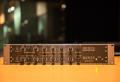 MANLEY PULTEC Enhanced Stereo EQ :: 220/240V EQP1-A :: Very rare