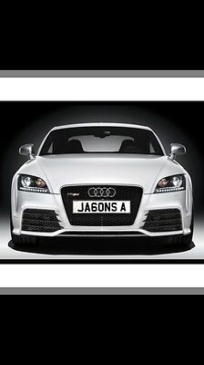 Jason Number Plate Private Plate Cherished Plate