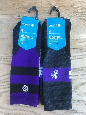 Lot of two (2) pairs of Stance Socks size Large (L)