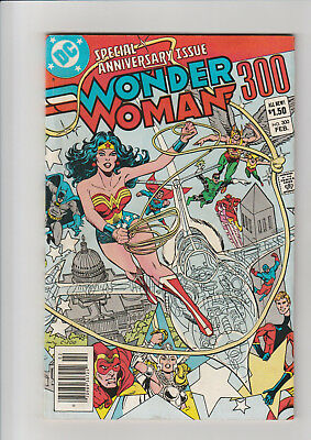 Wonder Woman  #300  F+  DC comic 1983 Special Anniversary Issue