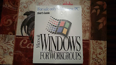 Microsoft Windows for Workgroups still Sealed