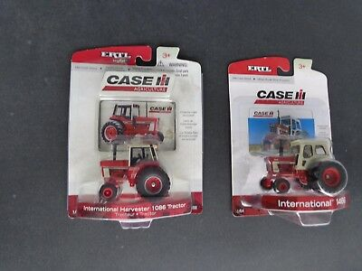 1/64 IH 1086 and 1466 toy tractors