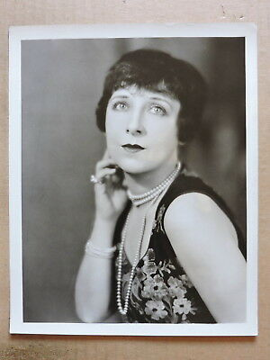 Dorothy Phillips original double-weight silent glamour portrait photo 1920's MGM