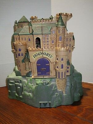 Harry Potter Hogwarts School Deluxe Playset Plus More Great Condition