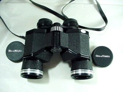 Vintage Bell & Howell Binoculars 8X40 Extra Wide Angle