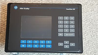 Allen Bradley 2711-B6C16 /C PanelView 600 Touch Screen / Keypad FRN 4.46, RS232