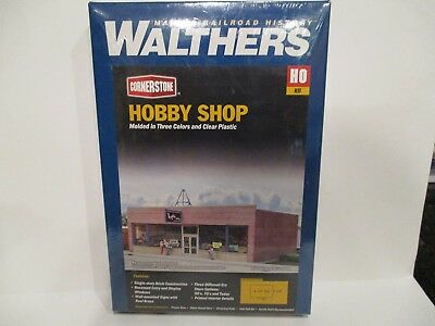 Walthers Ho Scale Structure Kit - Hobby Shop - New!