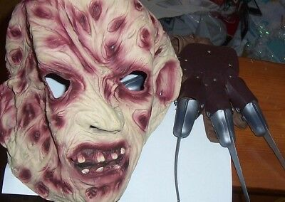 12 Days of Halloween: Freddy Krueger Authentic Mask with Freddy Fingers!