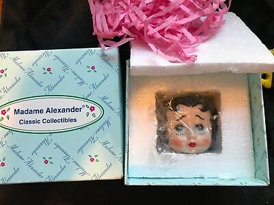 "Madame Alexander Dolls ~BETTY BOOP~ Porcelain Box ""I Wanna Be Loved By YOU""  NEW"