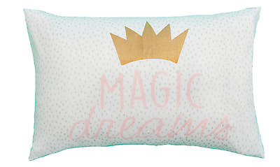 "Kids Magic Dreams ""Crown"" Novelty Pillowcase - Fit's A Standard Size Pillow"