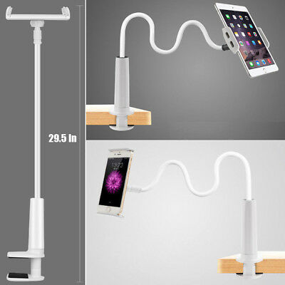 Flexible Long Arm Lazy Bed Stand Clip Holder For Mobile Phone iPhone Tablet iPad