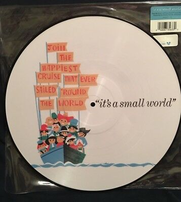 "Disney Parks D23 ""it's a small world"" Attraction Soundtrack Vinyl Record"