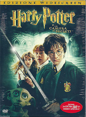 Harry Potter e la camera dei segreti (2002) 2DVD NUOVO Digipack Daniel Radcliffe