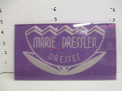 MARIE DRESSLER actress movie star dress 1930s store display sign women clothing