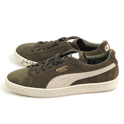 Puma Suede Classic + Olive Night-Birch Sportstyle Lifestyle Sneakers 363242  27 ae791fe86