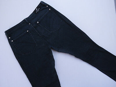 *f-195 Lee Stretch Bootcut Blue Wash Denim Jeans Ladies Size 14