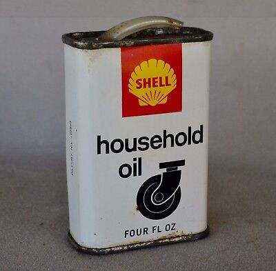 shell household oil tin 4 oz.