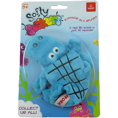 ALLIGATOR~Bath Toy~Softy Soaker~Aurora~Expands In Water~3D Animal In 40 Seconds