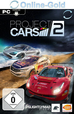 Project CARS 2 II Key - PC STEAM Digital Download Code - Rennspiele [DE/EU]