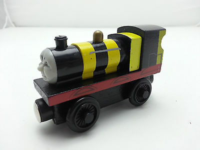 Thomas & Friends No.5 James Bee Magnetic Wooden Toy Train New Loose In Stock