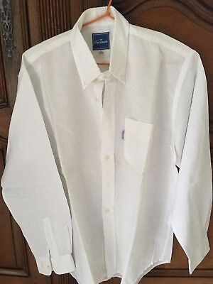 chemise FACONNABLE manches longues TAILLE 41/42