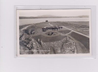 Shetland Jarlshoff Pictish Ruins Round Houses Rp Unposted Card 8