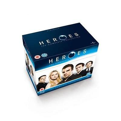 Heroes - The Complete Collection 1, 2, 3 & 4 ----- BLU-RAY Disc Set
