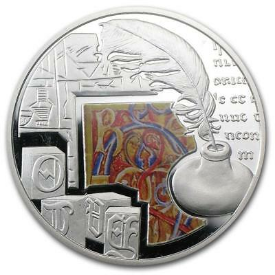 Niue 2011 Novoselye Housewarming С новосельем 28.28g Gilded Silver Proof Coin