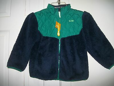 NEW Champion Boys Blue & Black Zip Up Jacket, Size 5T NWT