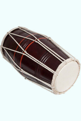 Stylish And Beautifully Crafted Cord Style Ring Dholak Musical Instrument MI 069