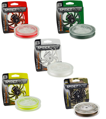 Spiderwire Stealth Smooth 8 Carrier Braid 150m, 240m & 300m *Full Range*