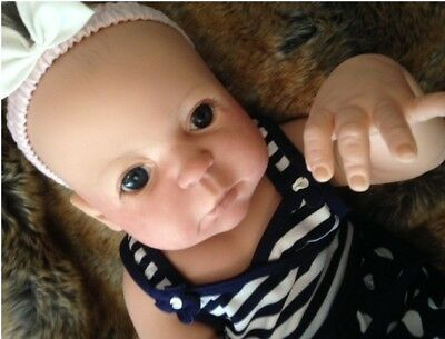 Beautiful full bodied realistic reborn baby girl Juna by Sheila Michael