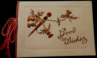 Tuck CHRISTMAS Card Booklet with Verse Inside