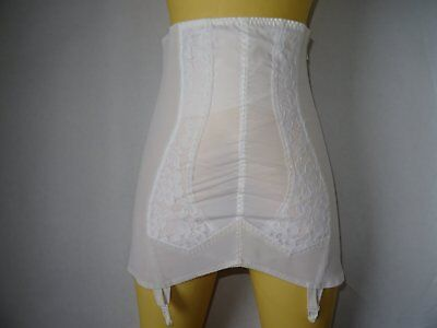 Vintage Berlei Open Zipper Girdle with Suspenders Size 4XL Excellent