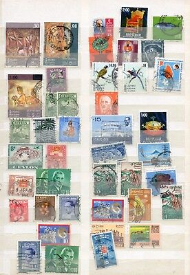 Ceylon Mixed Lot 1940 And Later Used