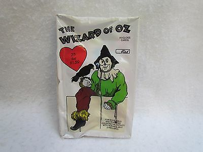 1987 Wizard of Oz Hi Gloss Valentines ~ 25 Cards ~ Mint in the Package!