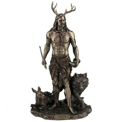 New Herne Hunter Pagan Wicca Figurine Figure Statue From Nemesis Now H3143