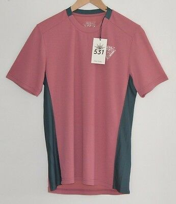 PAUL SMITH 531 pink cycling base layer jersey t-shirt tshirt top striped LARGE