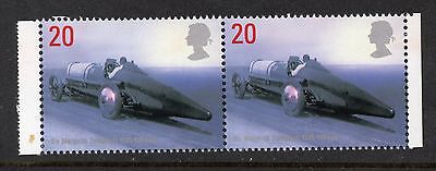 1998 UM Breaking Barriers Side Band Booklet Commemorative Pair SG 2059a 2059aEb