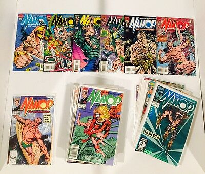 Lot Of 64 Namor #1-62 Complete Set (-2)  + Annuals #1-4 / John Byrne 1990
