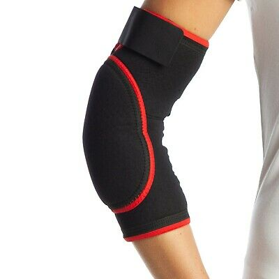 Padded Elbow Support Brace for Both Arms Gym Epicondylitis Strap Pain Wrap
