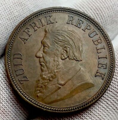 South Africa 1 Penny 1892 Superb Unc!!!!