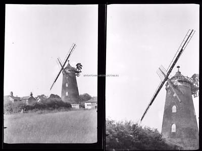 1910's UNPUBLISHED PHOTO NEGATIVES OF A WINDMILL POSSIBLY WALES