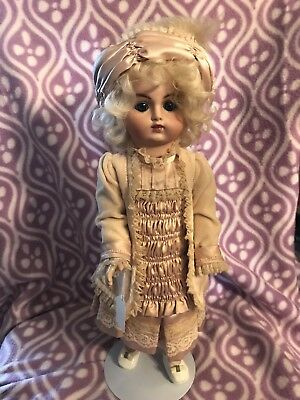 "18"" Pan, repro French Bisque doll  By Henri Delcroix"