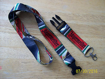 New JAGERMEISTER Lanyard Key Badge Access Card Holder