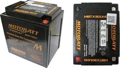 Motobatt Battery For Harley-Davidson FL, FLH Series (Touring) 1340 (80)cc 97-98